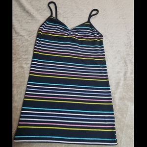Striped Womens Tank Top size Small